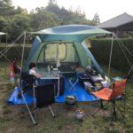 初キャンプで緊急事態!!
