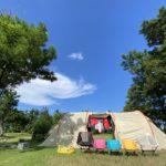 【関西近郊・三重県】大淀西海岸ムーンビーチキャンプ場 / 海のすぐそば南国キャンプ!子供も喜ぶプール付き♪